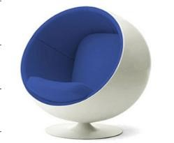 Ball Chair (Blue)