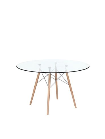 Eiffel Glass Dining Table WEb