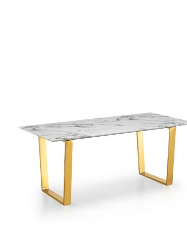 Gold Dining Table 1
