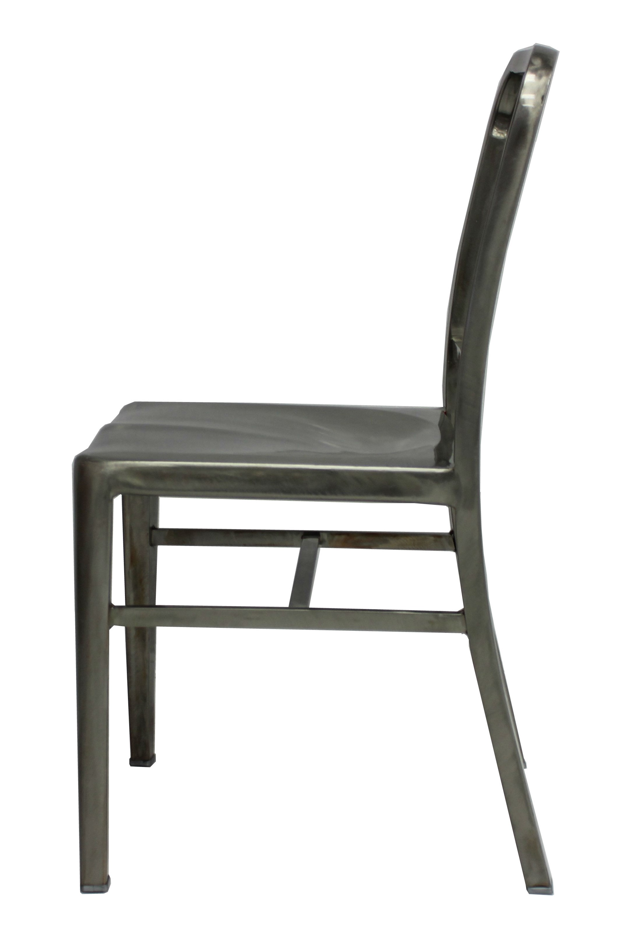 Navy Chair Plata Import