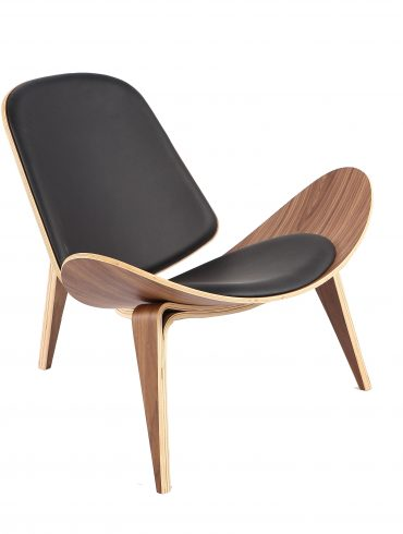 Shell Black Chair I