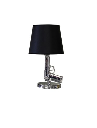 Small Gun Lamp ( Silver )