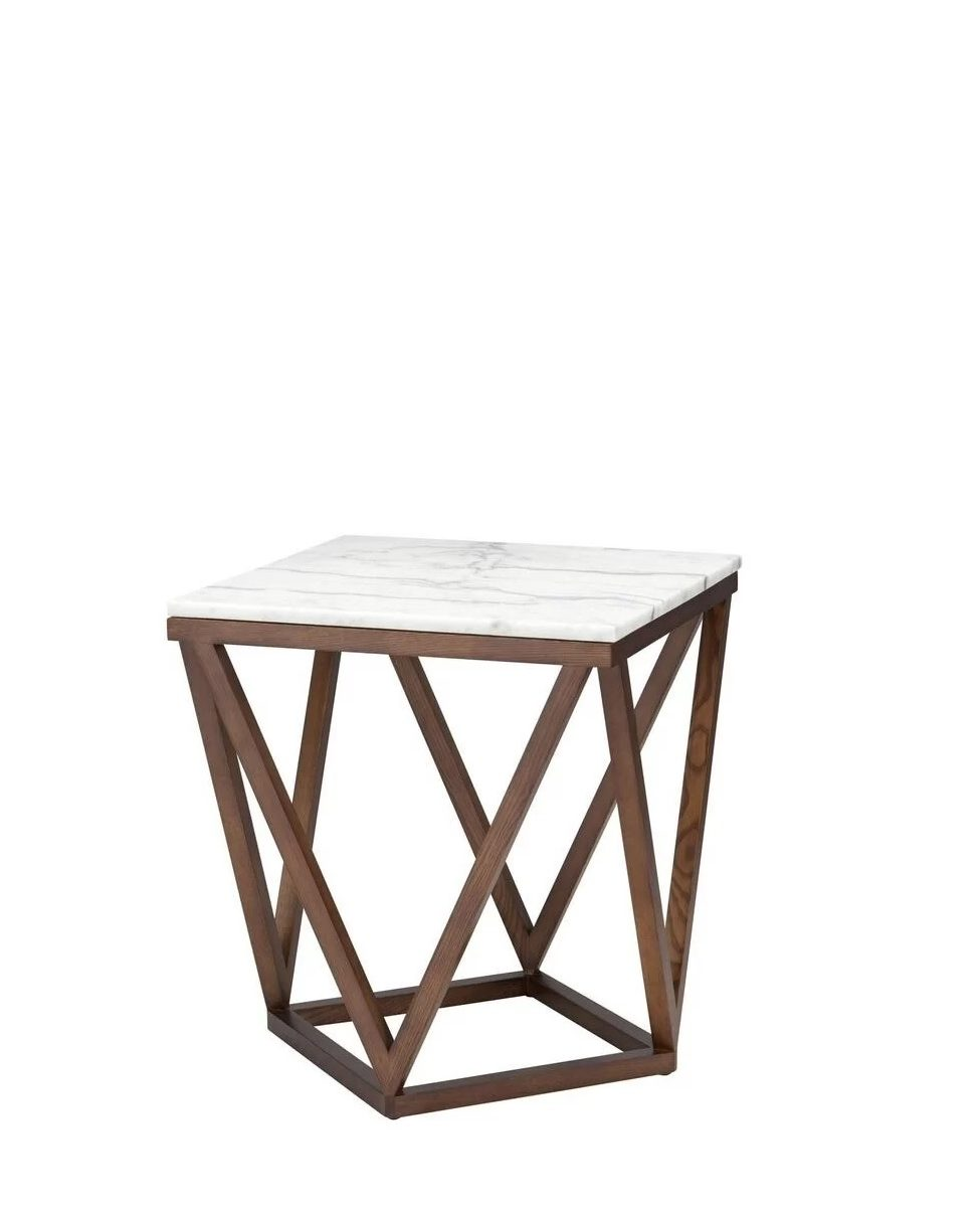 Belize End Table (wood) D36 II