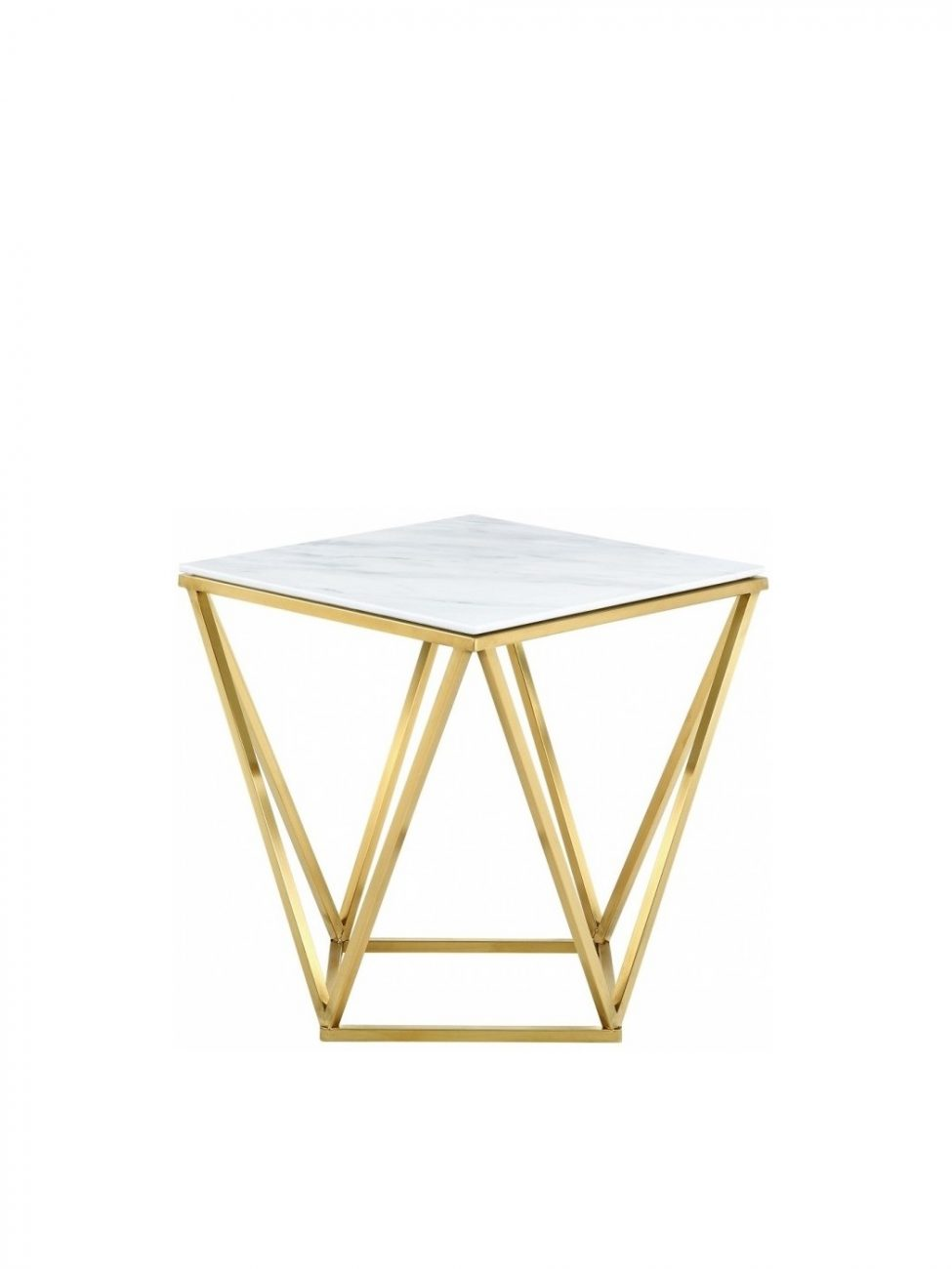 Dominica End table (Gold)