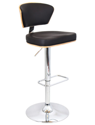 Oscar Adjustable Stool JY1928-2-BLACK