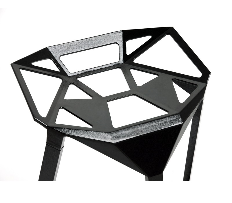 Web Stool Black IV