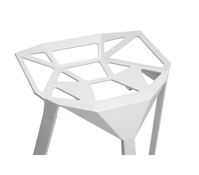 Web Stool White IV