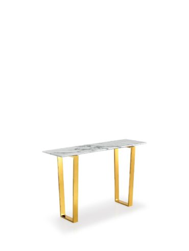 marble console table Gold