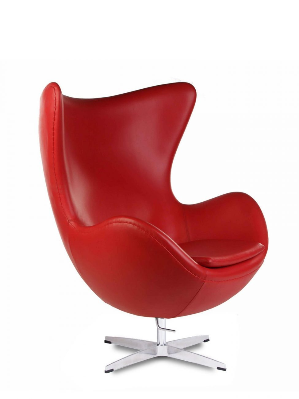 Egg Chair Red 1