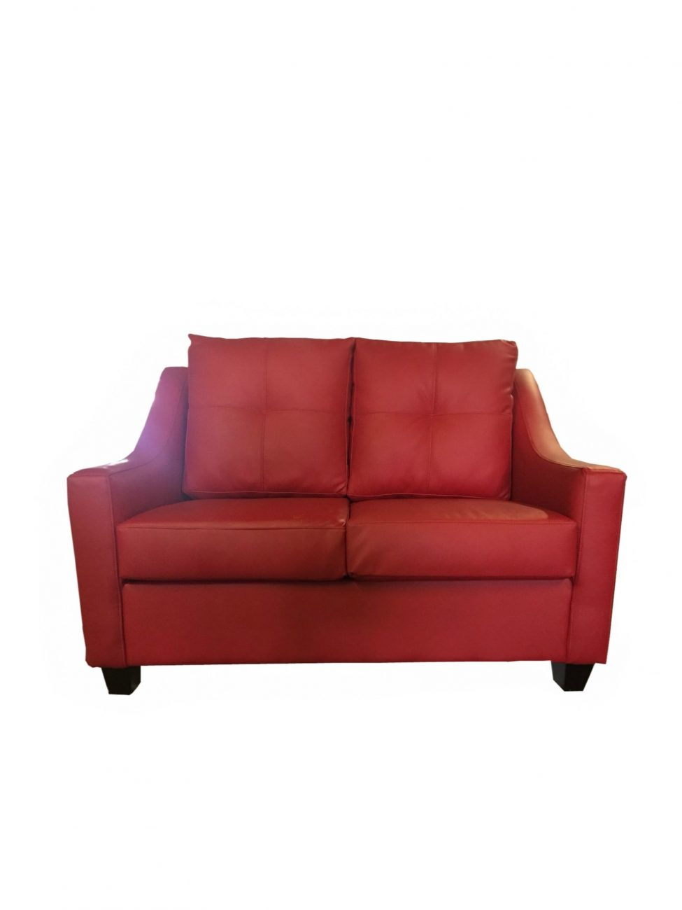 Loveseat Red 1 Web