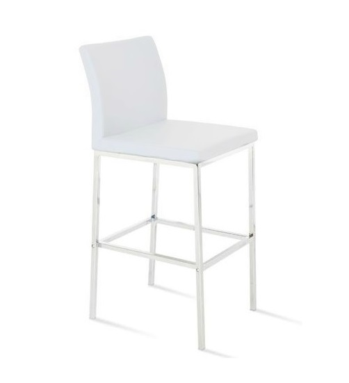Mex Bar Stool EBC-008-White Fin