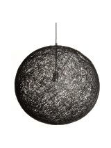 Rope Pendant Lamp (Black)