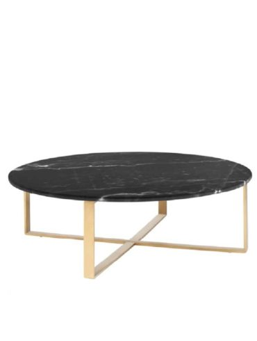 Rosi 2 Coffee Table (Black-Gold)