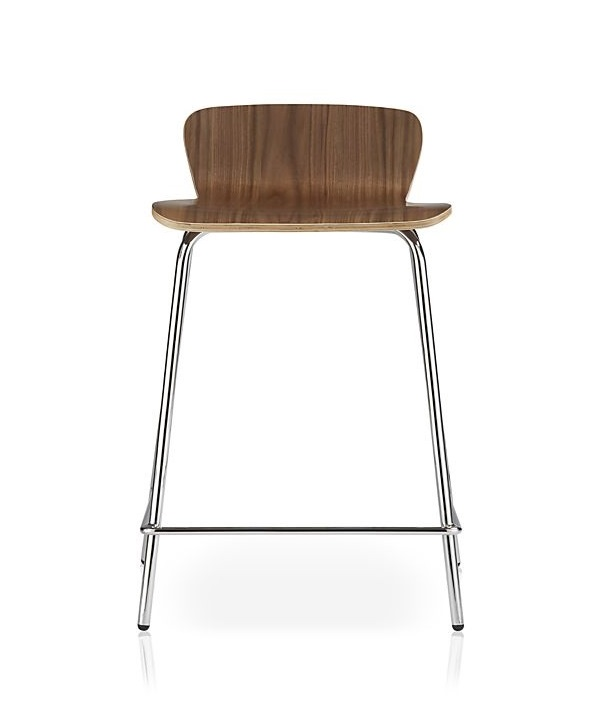 Brall Walnut Stool 1