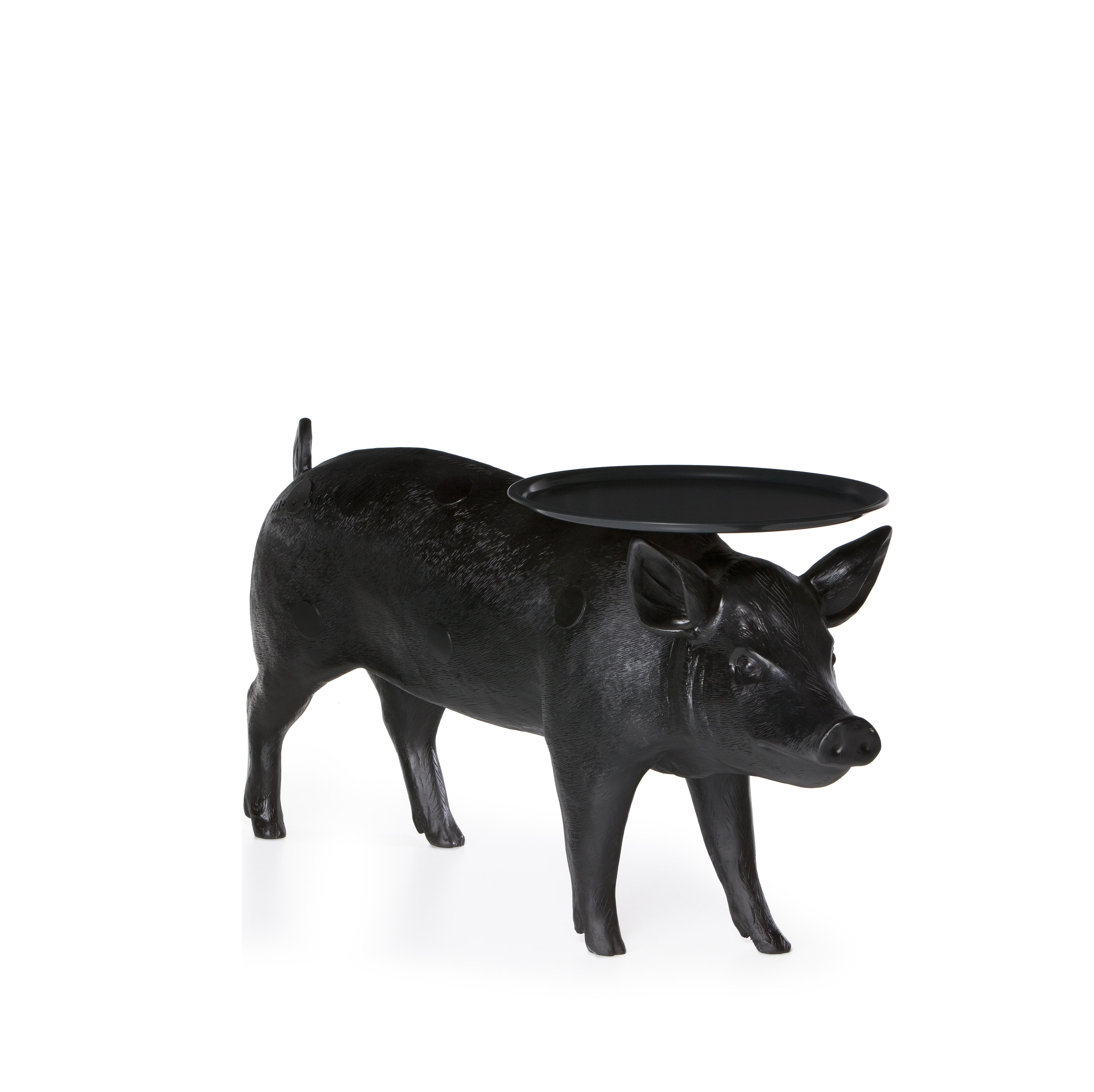 Pig Lamp Table Plata Import