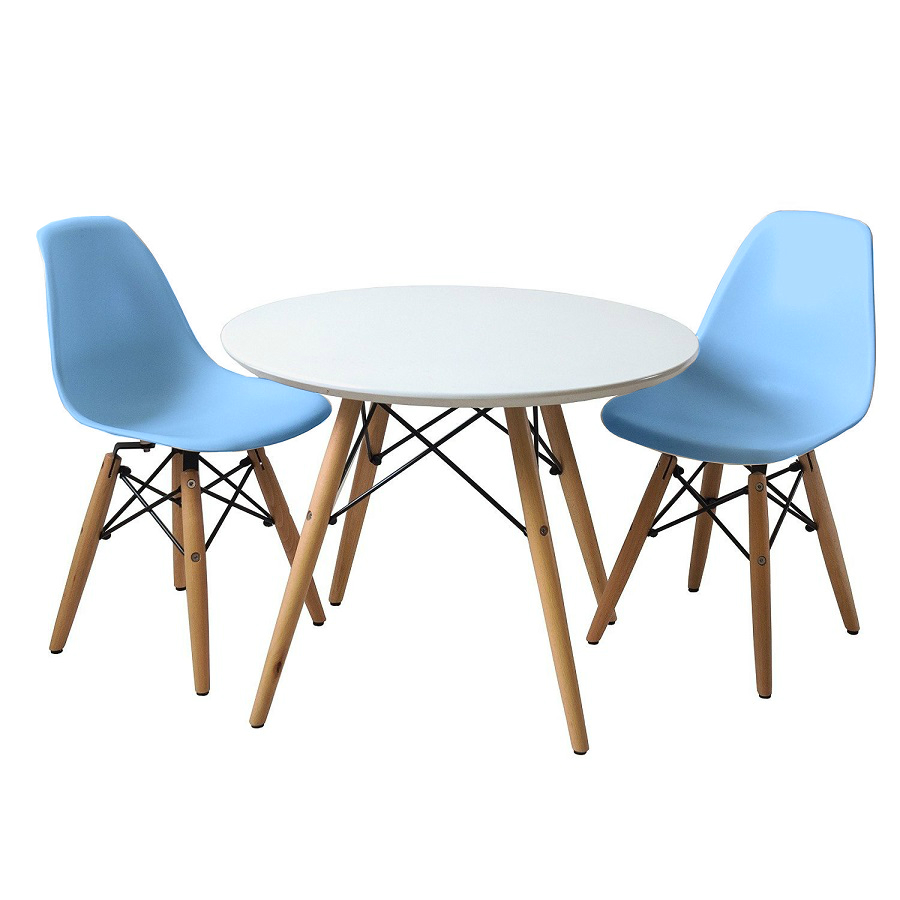 EIFFEL SET 2 WITH TABLE (Baby Blue)