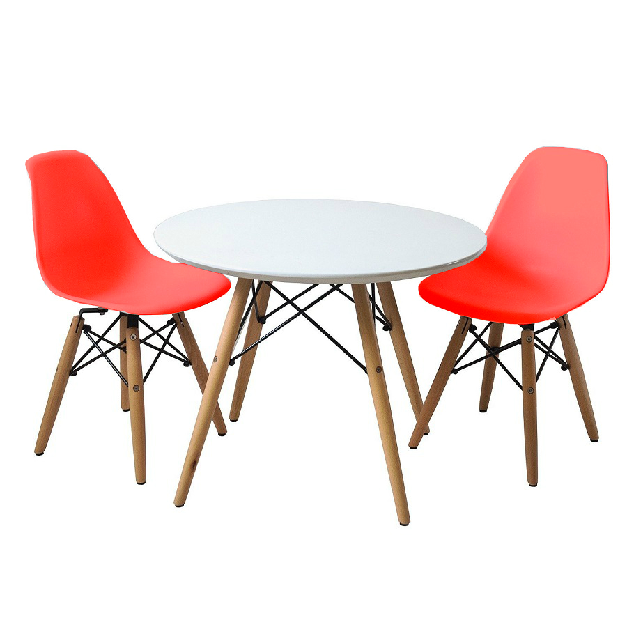 EIFFEL SET 2 WITH TABLE (Red)