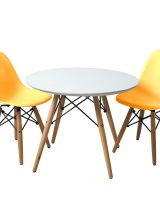 EIFFEL SET 2 WITH TABLE (Yellow)