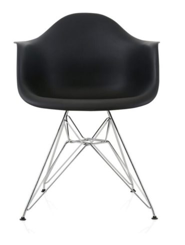 bucket chair black chrome (3)