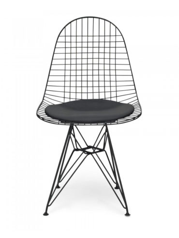 Mesh Eiffel Chair Black