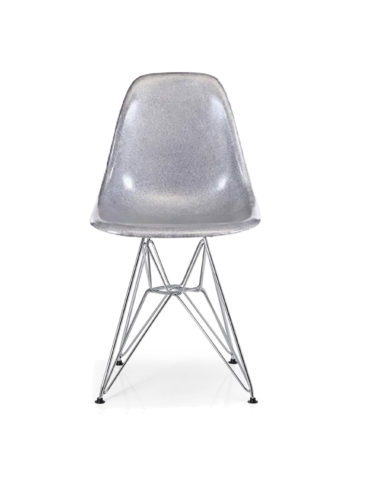 Eiffel Shinny Sliver Chair